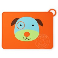 SkipHop SkipHop Zoo Fold & Go Silicone Placemat - Dog