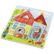 Haba Haba Wooden Bear House Puzzle 10pcs