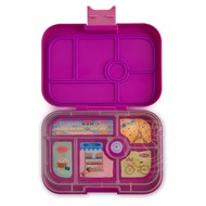 Yumbox YumBox Original 6 Compartment - Bijoux Purple w/ Paris Tray