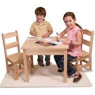 Melissa & Doug Melissa & Doug Wooden Table & Chairs Set