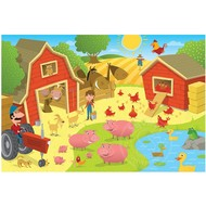 Cobble Hill Puzzles Cobble Hill Pig Pen Tray Puzzle 35pcs