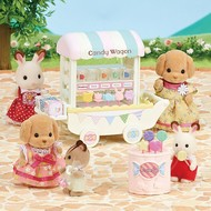 Calico Critters Calico Critters Candy Wagon RETIRED