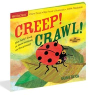 Workman Publishing Indestructibles Book Creep! Crawl!