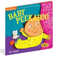 Workman Publishing Indestructibles Book Baby Peekaboo