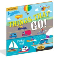 Workman Publishing Indestructibles Book Things That Go!