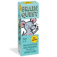 Workman Publishing Brain Quest for Threes