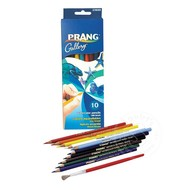 Prang Prang Watercolor Pencils 10 Colour Set with Brush