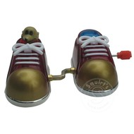 Wind Up Stepping Shoes Raffi