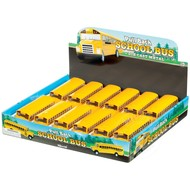 Toysmith Pull Back School Bus