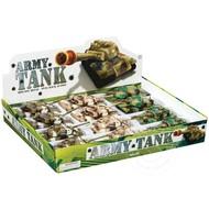 Toysmith Pull Back Army Tank Die Cast
