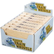 Toysmith Train Whistle Wooden