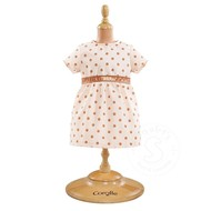 "Corolle Corolle Mon Classique Pink Gold Dress 14-15"" Doll Outfit"