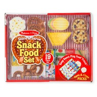 Melissa & Doug Melissa & Doug Store & Serve Snack Food Set