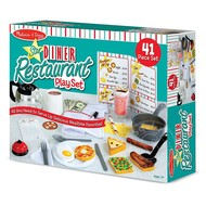 Melissa & Doug Melissa & Doug Star Diner Restaurant Accessory Set