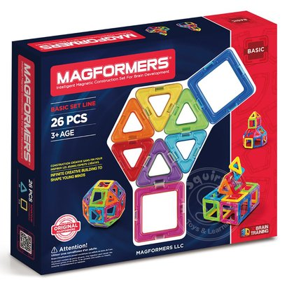 Magformers Magformers Standard Magnetic Building Set 26pcs