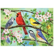 Cobble Hill Puzzles Cobble Hill Bloomin' Birds Family Puzzle 350pcs