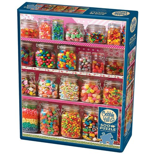 Cobble Hill Puzzles Cobble Hill Candy Shelf Puzzle 500pcs