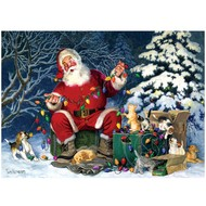 Cobble Hill Puzzles Cobble Hill Santa's Little Helper Puzzle 500pcs