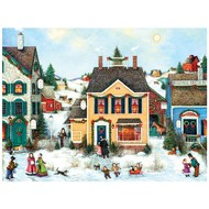 Cobble Hill Puzzles Cobble Hill Christmas Town Easy Handling Puzzle 275pcs
