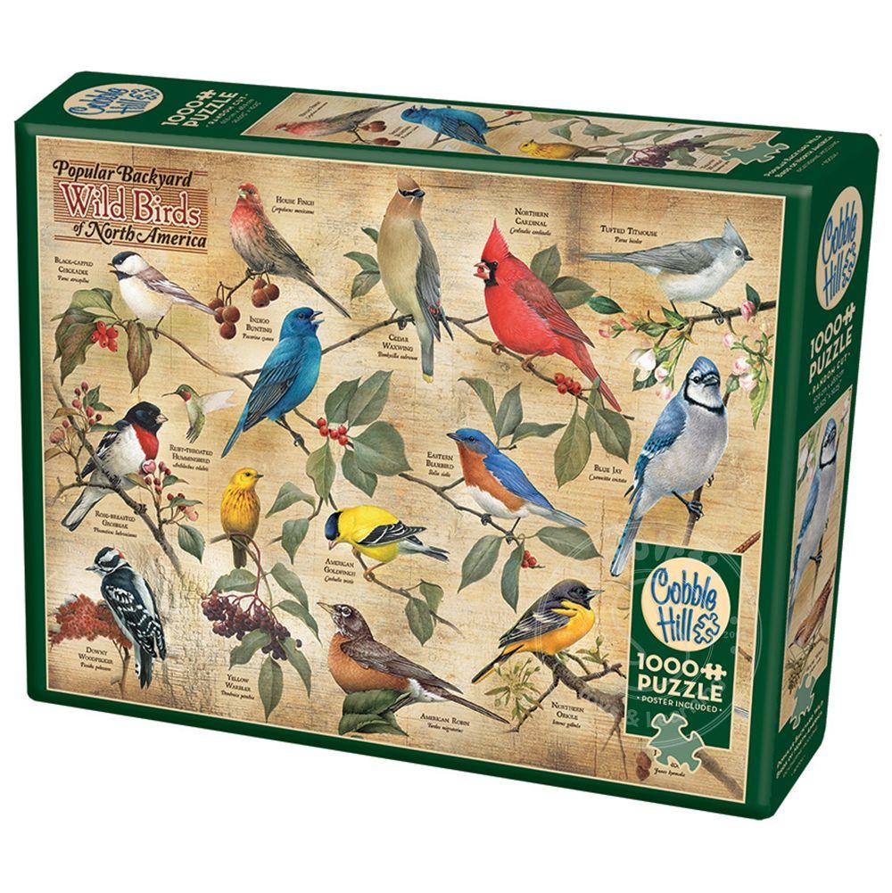 Cobble Hill Popular Backyard Wild Birds of North America ...
