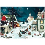 Cobble Hill Puzzles Cobble Hill Moonlit Winter Puzzle 500pcs