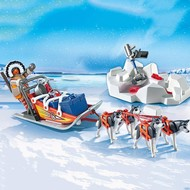 Playmobil Playmobil Husky-Drawn Sled RETIRED