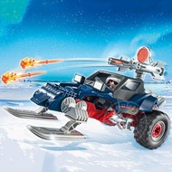 Playmobil Playmobil Ice Pirate with Snowmobile RETIRED