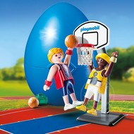 Playmobil Playmobil Easter Egg One-on-One Basketball RETIRED