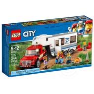 LEGO® LEGO® City Pickup & Caravan