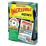 """Key Education Real-Life """"Incredible"""" News High Interest/Low Readability Novels"""