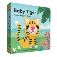 Chronicle Books Baby Tiger Finger Puppet Board Book