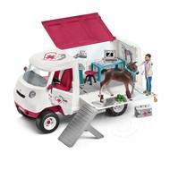 Schleich Schleich Mobile Vet with Hanoverian Foal