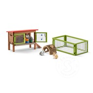 Schleich Schleich Rabbit Hutch