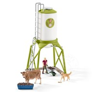 Schleich Schleich Feed Silo with Animals RETIRED