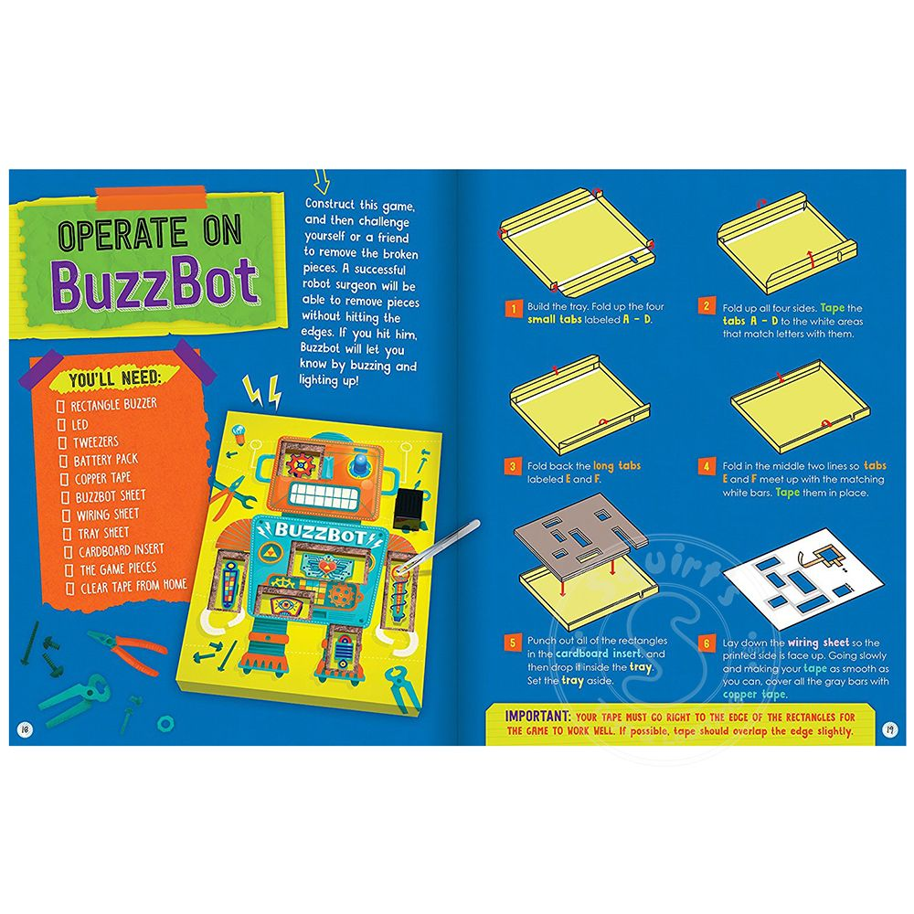 Miraculous Klutz Maker Lab Circuit Games Squirts Toys Learning Co Wiring Digital Resources Timewpwclawcorpcom
