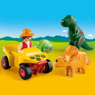 Playmobil Playmobil 123 Explorer with Dinos