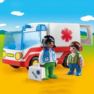 Playmobil Playmobil 123 Rescue Ambulance