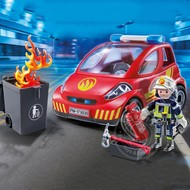 Playmobil Playmobil Firefighter with Car RETIRED