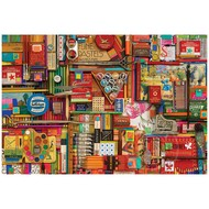 Cobble Hill Puzzles Cobble Hill Vintage Art Supplies Puzzle 2000pcs