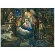 Cobble Hill Puzzles Cobble Hill Away in a Manger Puzzle 500pcs