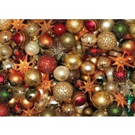Cobble Hill Puzzles Cobble Hill Christmas Balls Puzzle 500pcs