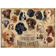 Cobble Hill Puzzles Cobble Hill Sporting Dogs Puzzle 1000pcs