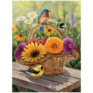 Cobble Hill Puzzles Cobble Hill Summer Bouquet Easy Handling Puzzle 275pcs