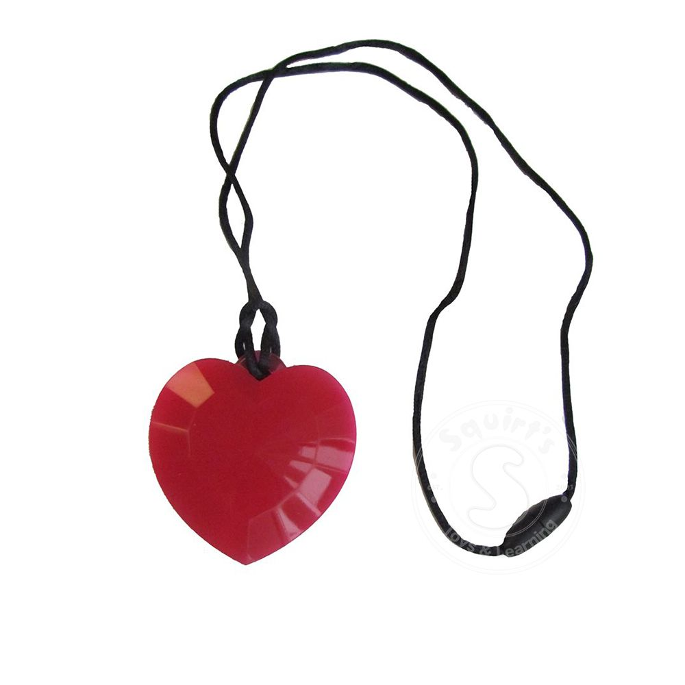 638ecb0488a2c Chewelry Heart Necklace - Squirt's Toys & Learning Co
