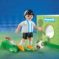 Playmobil Playmobil Soccer Player Argentina RETIRED