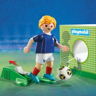 Playmobil Playmobil Soccer Player France RETIRED