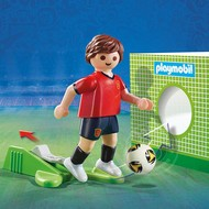 Playmobil Playmobil Soccer Player Spain RETIRED
