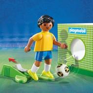 Playmobil Playmobil Soccer Player Brasil RETIRED