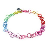 Charm It Charm It! Rainbow Chain Bracelet