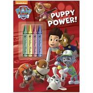 Random House Paw Patrol Puppy Power Colouring Book